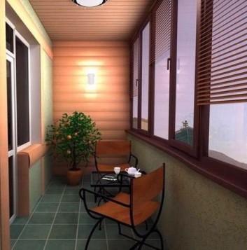 Светильник на балкон: как провести свет, освещение на лоджии.