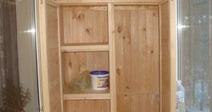 шкаф на лоджию своими руками