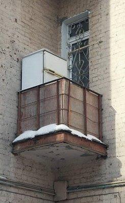 холодильник на балкон