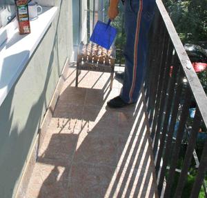 Можно ли пожарить барбекю на балконе цены на камины, барбекю в москве