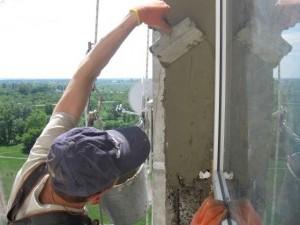 как сделать откосы на окнах снаружи