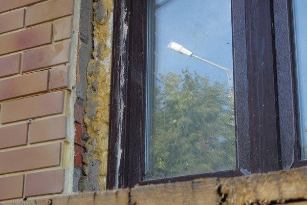Откосы окна своими руками с улицы