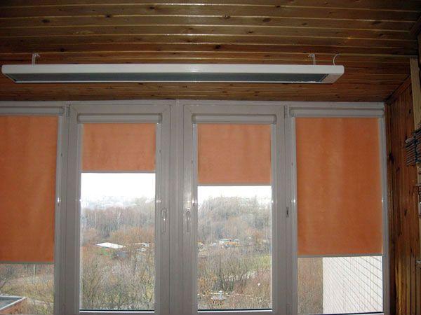 Обогреватель для балкона: обогрев лоджии инфракрасного типа,.