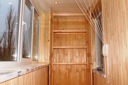 Угловой шкаф на балконе своими руками фото 710