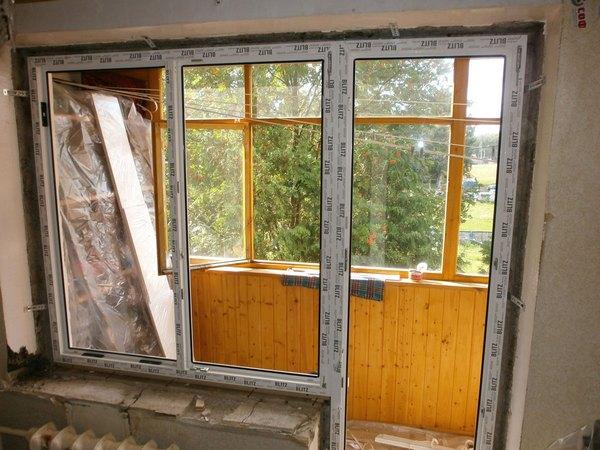 Установка балконной двери пвх своими руками - vzmorie adler.