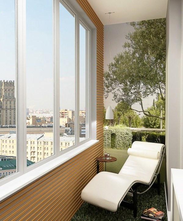 Кабинет на балконе: рабочее место на лоджии, как сделать сво.