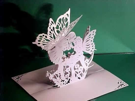 киригами из бумаги