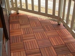 полы на открытом балконе