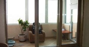 раздвижные двери на балкон