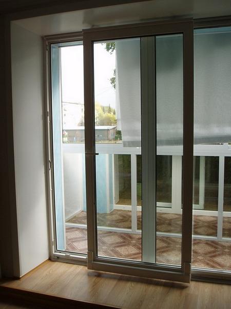 балконная дверь портал