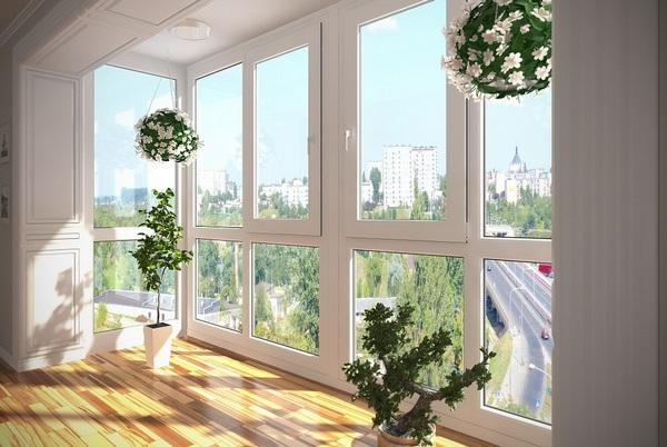 панорамный балкон