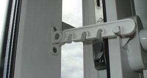 ограничитель открывания пластиковых окон