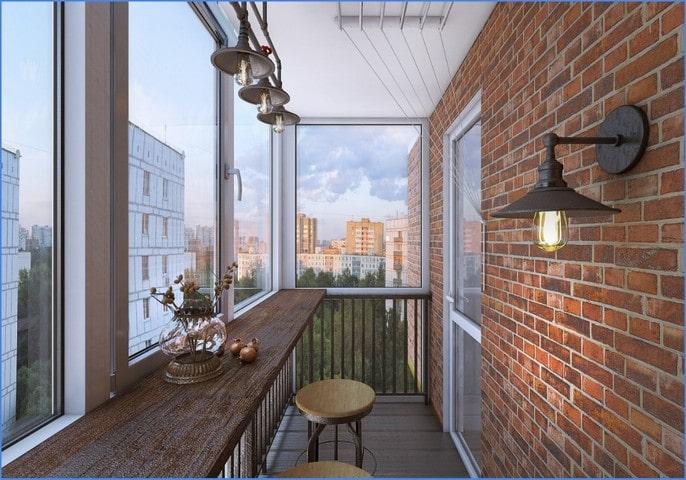 балконный лофт