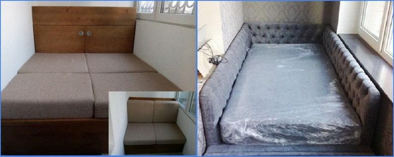 кровать на балкон