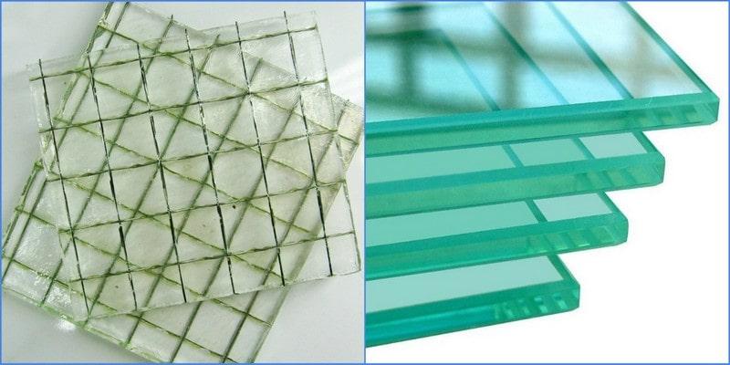 виды оконного стекла
