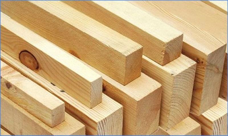 деревянный брус