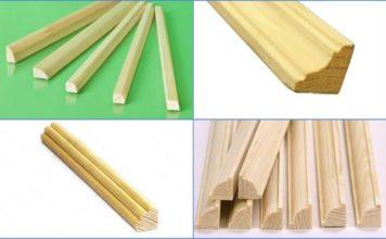 штапики деревянные для окон